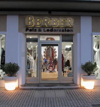 Ladengeschäft Eingang Berber Moden